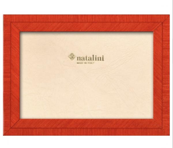 Orange marquetry photo frame