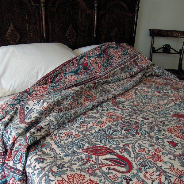 Indian Garden Bedspread