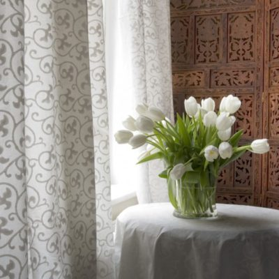 White Vine Curtain
