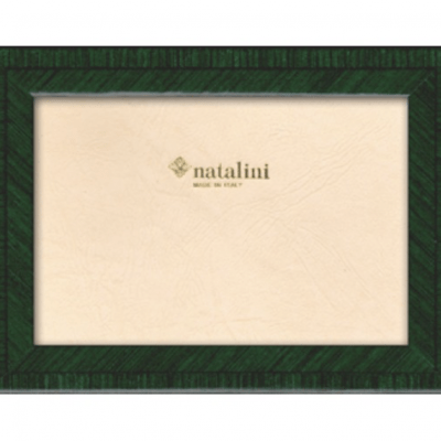 Green marquetry photo frame